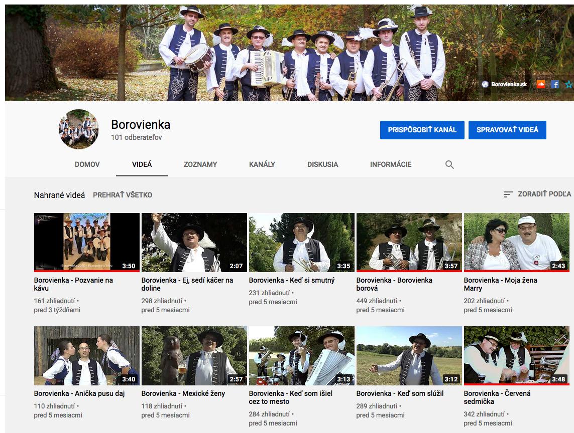 Borovienka - You Tube