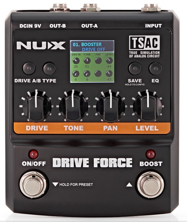Nux drive force front