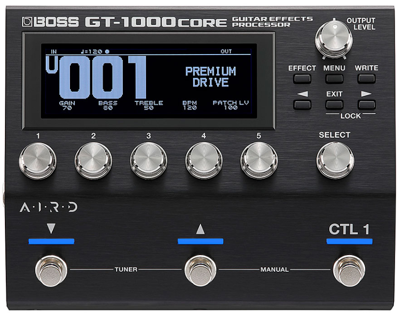 boss gt-1000core front