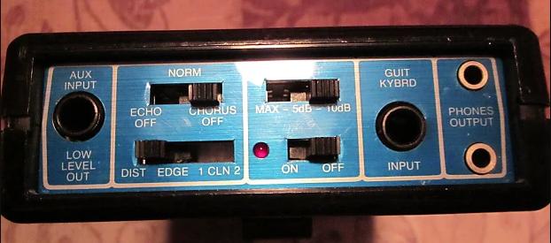 Rockman X100 - ovládací panel